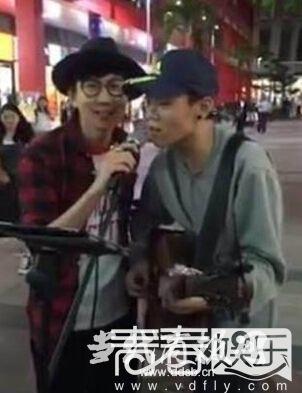 林俊杰街头合唱太暖遭反呛图片