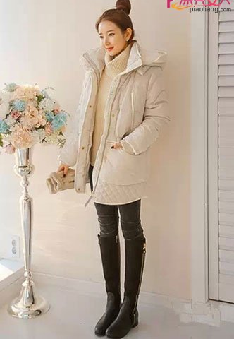 冬季矮个女生穿衣搭配宝典