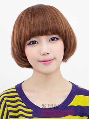 女生齐刘海发型图片 减龄修颜最佳之选图片