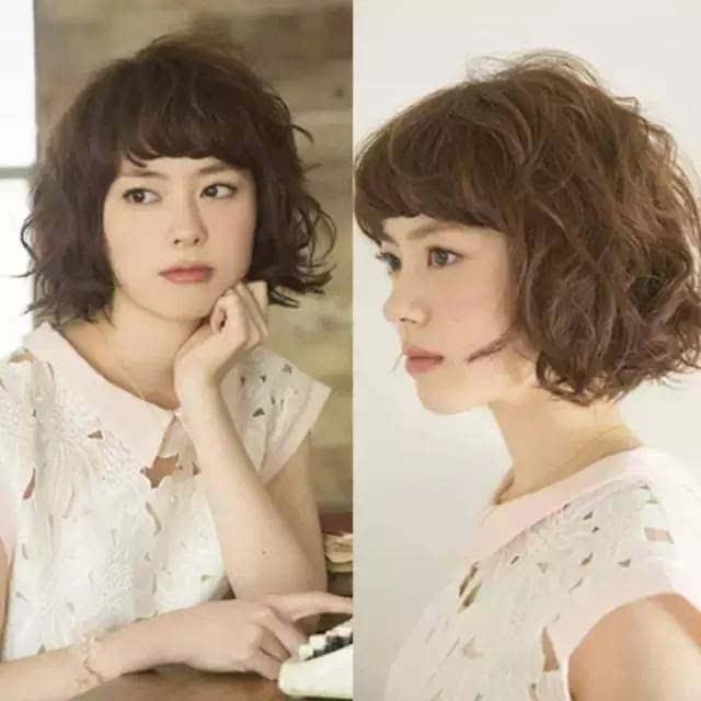 三款懒人发型 轻松打造日系短发图片图片