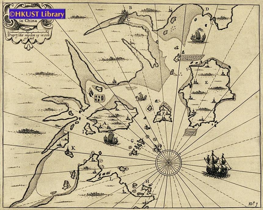 18世纪西方古地图上的厦门港