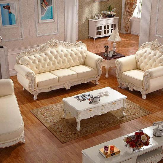 欧式沙发 搭配雍容华贵客厅面貌
