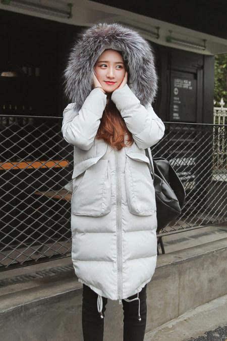女生冬天衣服图片