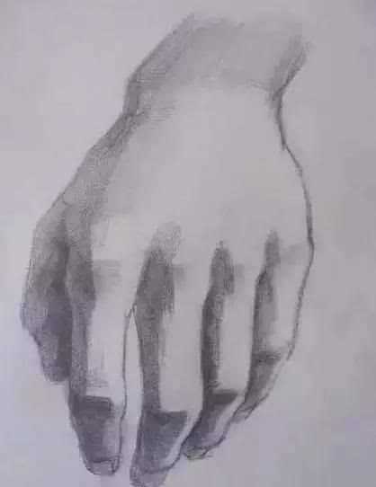 手部绘画步骤图片