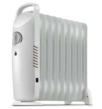 9片迷你电热油汀取暖器