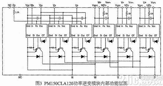 设计使用光耦hcpl4506作为隔离驱动电路的核心芯片,其最大驱动电流2.