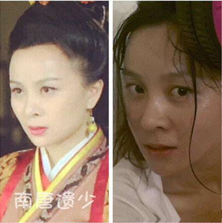 细数《芈月》佳丽素颜相:刘涛蒋欣似黑白