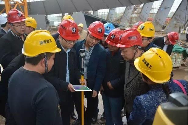 陕西建协代表团到湖南建工集团参观交流