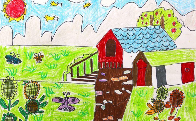 《我爱我的家乡》 古城路小学