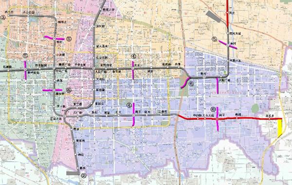 (2012-2021)》点击查看规划总平面图大图]-石家庄地铁3号线二期