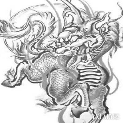 黑麒麟这个麒麟印记(纹身)第一次是出现在悬疑,探险小说《盗墓笔记》