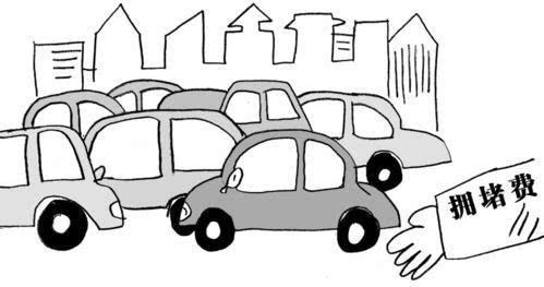 北京将收拥堵费治堵症(图)