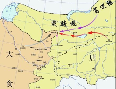 天宝十年时,唐朝已经放弃碎叶,改镇焉耆,但唐朝为什么派打吐蕃的劲旅
