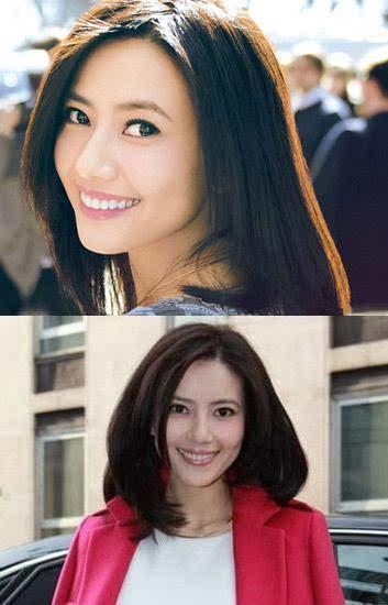 范冰冰喜卷发刘诗诗爱中分 盘点女神最爱发型图片