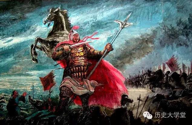 回首英雄的一生,霸气却又令人可惜项羽从出兵,只用三年便灭亡了秦朝图片