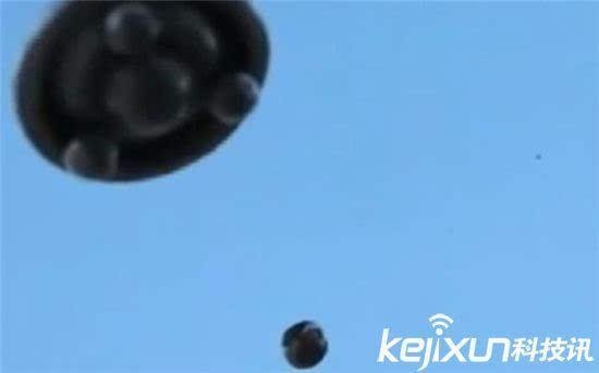 美国德州多人目睹ufo 视频放大似外星人战舰
