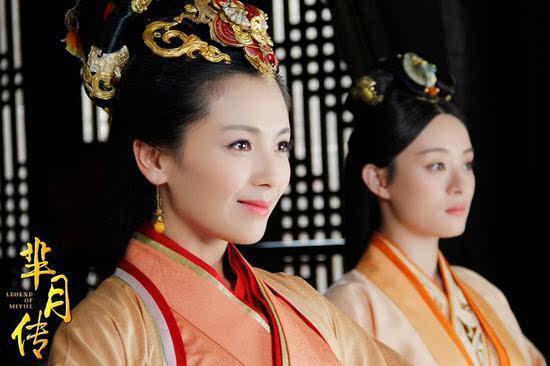 《芈月传》中刘涛姐妹霸气威震后宫图片