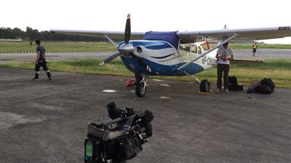 bbc记者乘机飞近中国南海岛礁 几次在菲占中业岛加油
