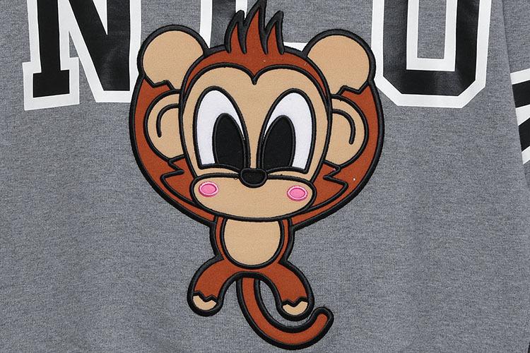 手绘pop海报设计 猴子
