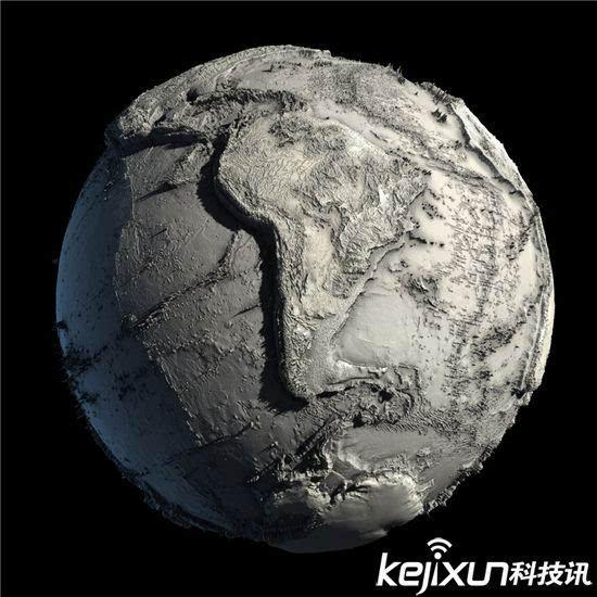 另类揭秘:地球素颜照吓死人