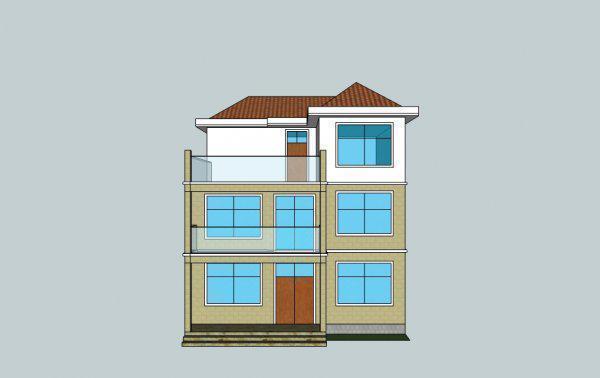 220平房设计图