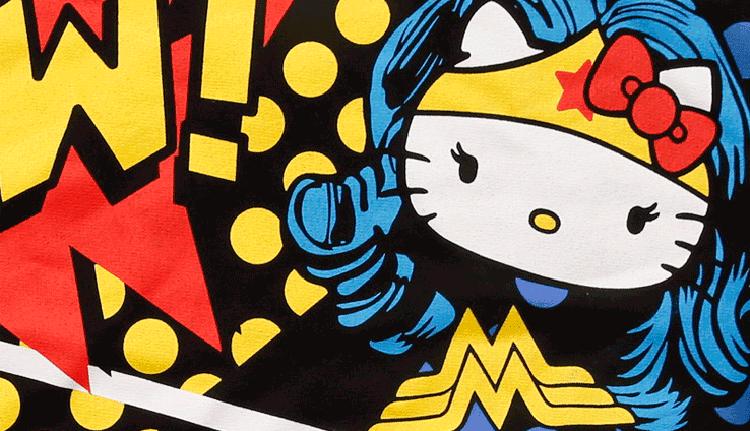 OCOOLATE X DC Comics X Hello Kitty 卫衣玩