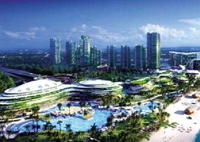 碧桂园海外布局打造森林城市