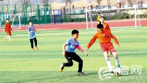 在校园足球推进力度不断加大的社会背景下