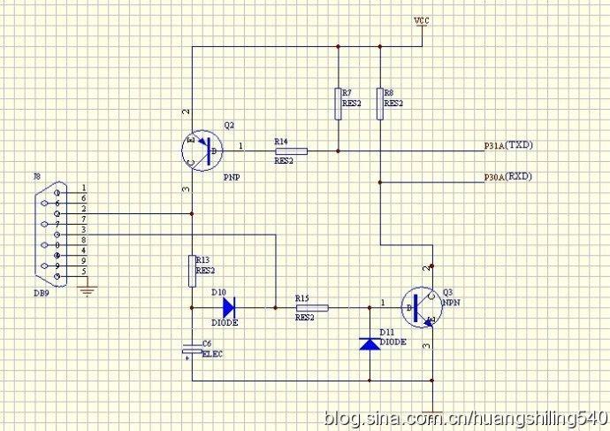 stc单片机串口硬件电路的设计