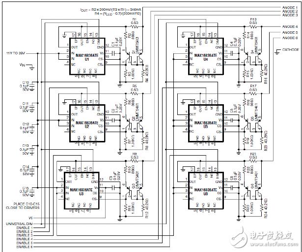 电路改造cad图纸