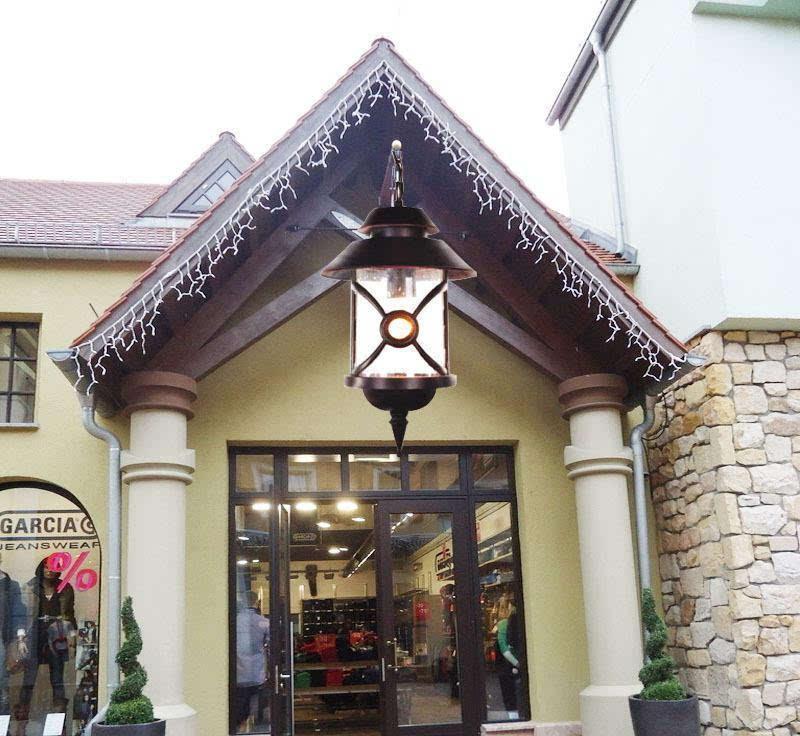欧式庭院灯 园林景观灯 压铸铝户外灯