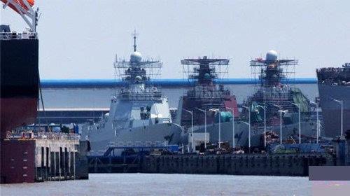 055型导弹驱逐舰是中国海军一个具有里程碑意义的重大型 - hubao.an - hubao.an的博客