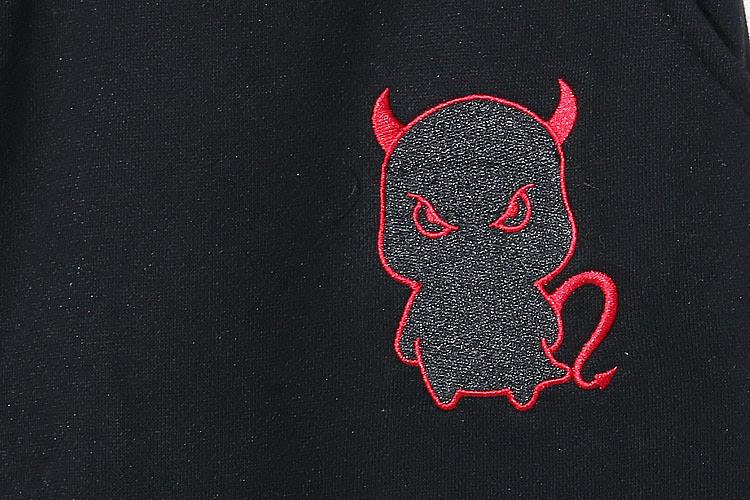 民族服饰纹样-MIRACLE KILL 小A精灵轮廓加绒运动休闲裤图片