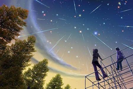 流星陨石矢量图