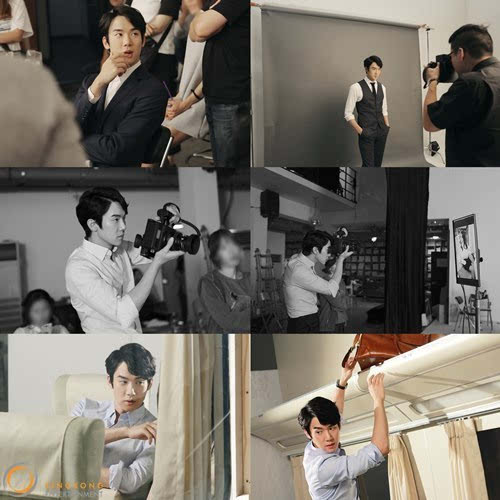 扰2电影高清_韩国演员柳演锡为电影《那天的气氛》拍摄宣传海报,型男魅力狂扰女人