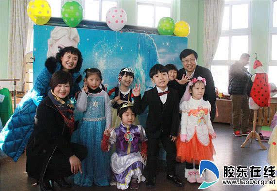 卓雅 大风车幼儿园2016跨年庆典活动纪实图