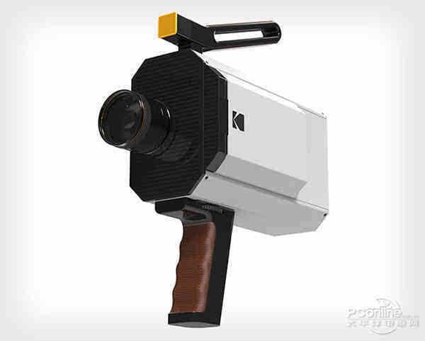 情怀二字值千金:柯达发布全新胶片摄像机