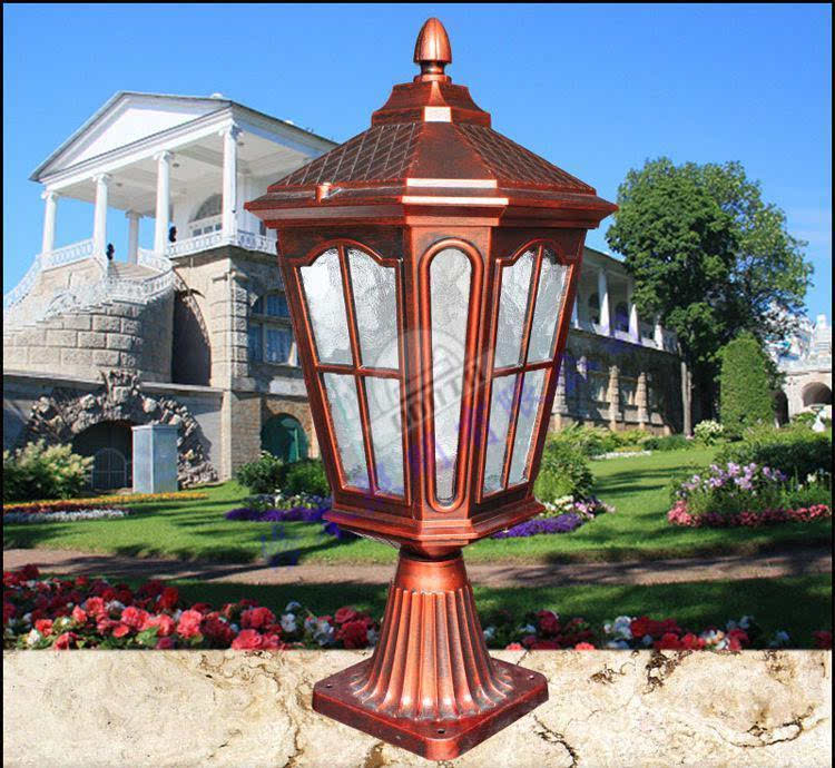 欧式户外照明庭院灯 欧式花园园林景观灯