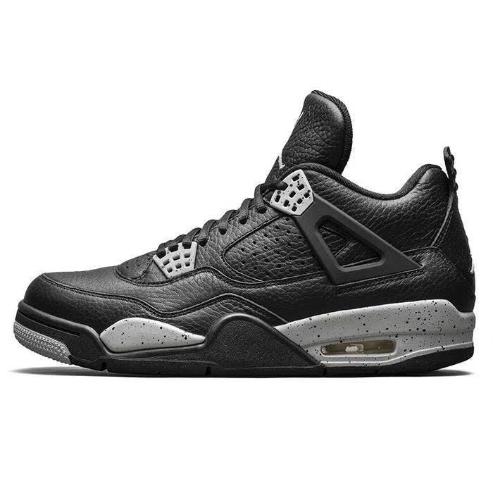黑白永恒 Air Jordan 4 Oreo 奥利奥 男子篮球鞋