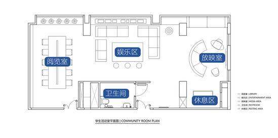 创意又私密:香港学生的27 四人间宿舍设计图片