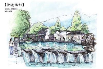 湖科师生手绘古建筑明信片正式对外出售 受关注