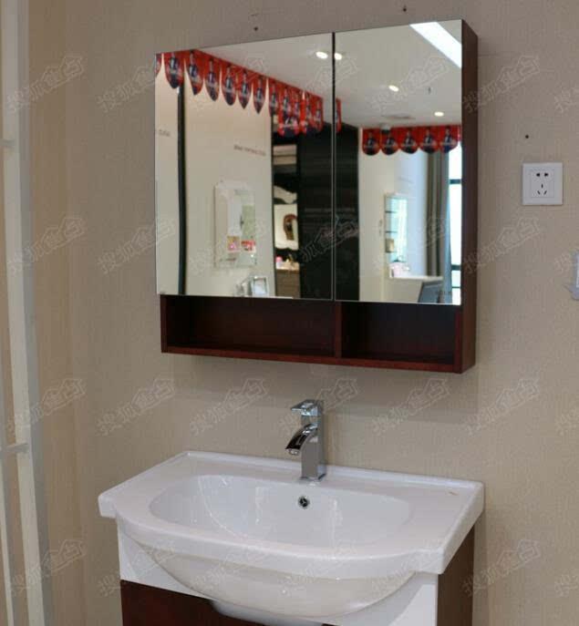 感受简洁大气 金牌实木浴室柜RF85097S评测