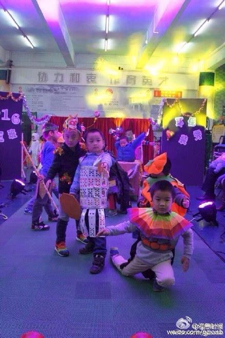 荔湾 亲手做服装 幼儿园上演环保时装秀
