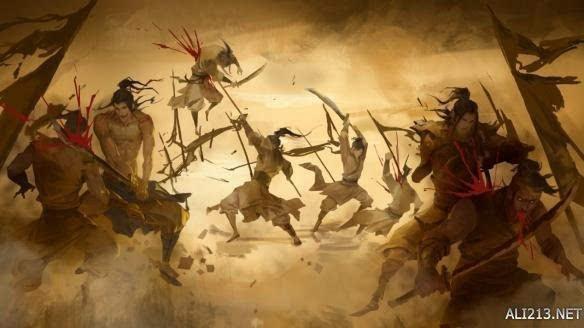 战火连天 青锋剑指英雄路!《洛川群侠传》宣动视频大