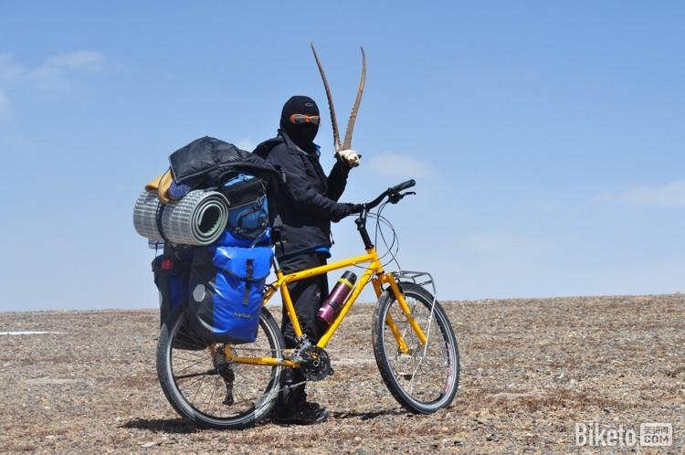 女神骑行穿越羌塘无人区 借宿遗失小装备图片 94237 750x498