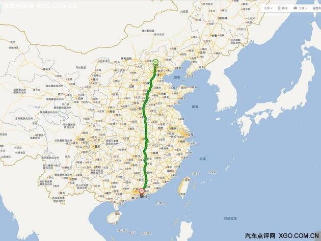 g30为连霍高速公路的简称,横贯中国大陆的东,中,西部.