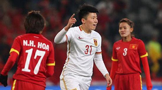 四国赛:中国女足8-0越南 王珊珊马晓旭皆2球