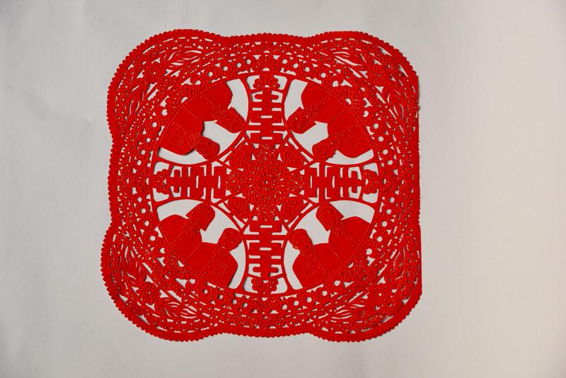 宣城传统春节民俗剪纸:守规矩的传统美德