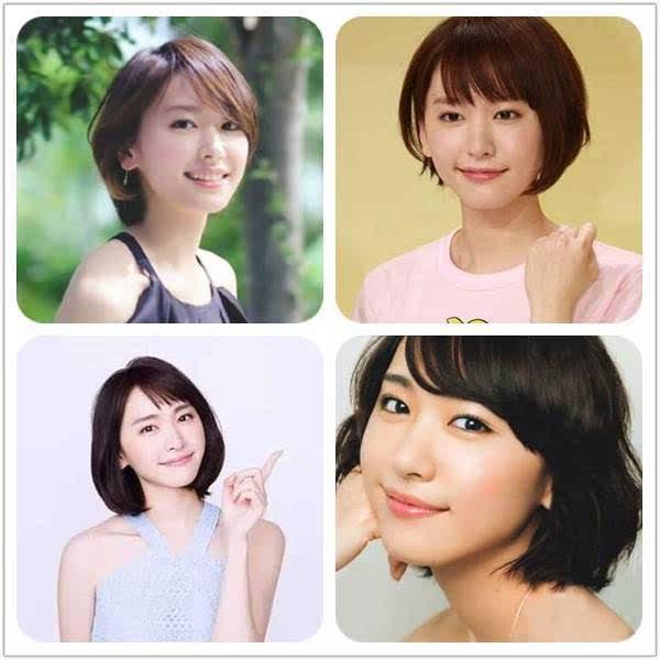 尹恩惠的短发造型同样很多样