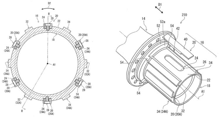 自行车塔基结构图